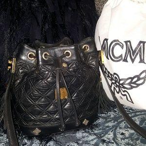 vintage M C M bag